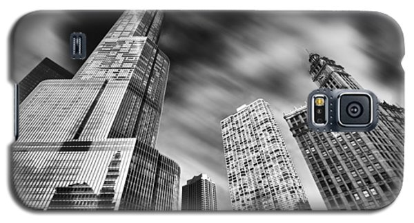 Trump Tower In Black And White Galaxy S5 Case