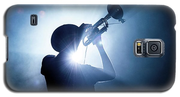Trumpet Galaxy S5 Case - Trumpet Player by Erik De Klerck