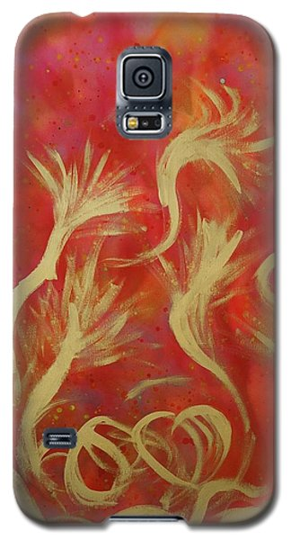 Trumpets Galaxy S5 Case by Lola Connelly