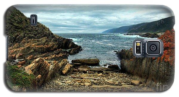 Tsitsikamma Rocky Ocean Galaxy S5 Case