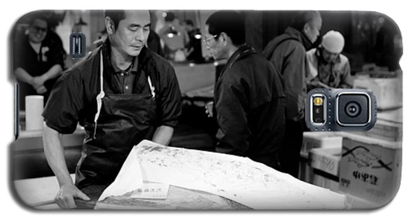 Tsukiji Tokyo Fish Market Galaxy S5 Case by Sebastian Musial