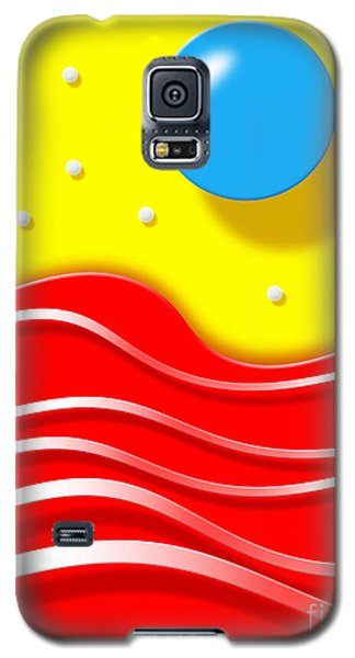Galaxy S5 Case featuring the digital art Tsunami by Cristophers Dream Artistry