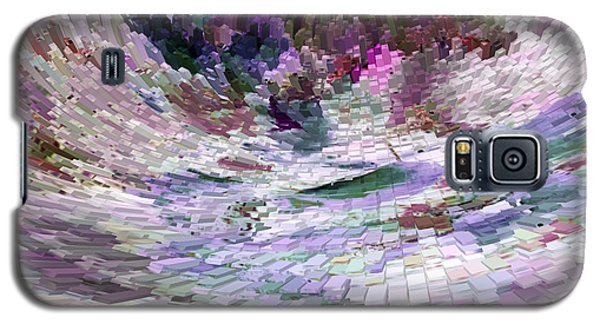 Galaxy S5 Case featuring the digital art Tsunami by Liz  Alderdice