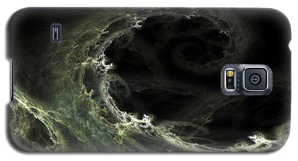 Galaxy S5 Case featuring the digital art Tsunami by Richard Ortolano