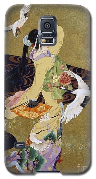 Tsuru No Mai Galaxy S5 Case by Haruyo Morita