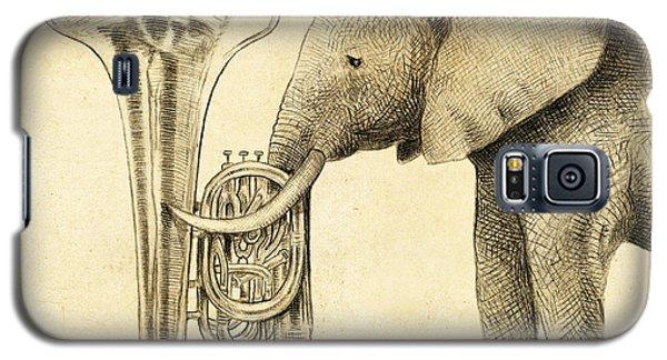 Tuba Galaxy S5 Case by Eric Fan