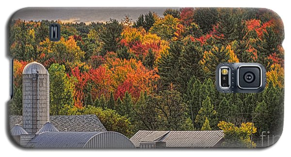 Galaxy S5 Case featuring the photograph Tucked Away In Autumn by Trey Foerster