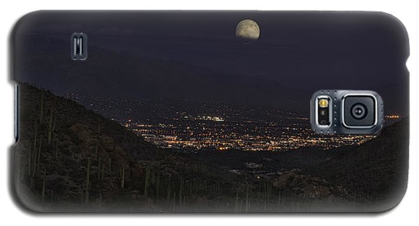 Galaxy S5 Case featuring the photograph Tucson At Dusk by Lynn Geoffroy