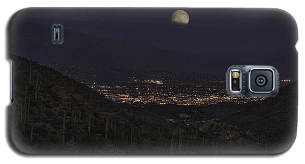 Tucson At Dusk Galaxy S5 Case by Lynn Geoffroy