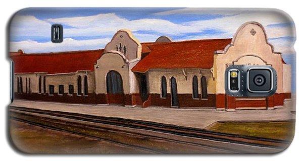 Tucumcari Train Depot Galaxy S5 Case by Sheri Keith