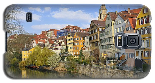 Tuebingen Neckarfront With Beautiful Old Houses Galaxy S5 Case