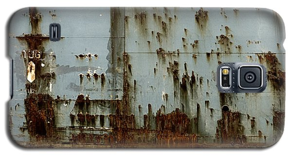 Galaxy S5 Case featuring the photograph Tug- A Fisherman's Impression by Joy Angeloff