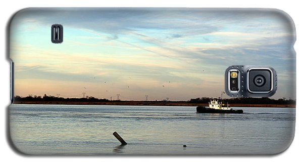 Galaxy S5 Case featuring the photograph Tug Boat by David Jackson