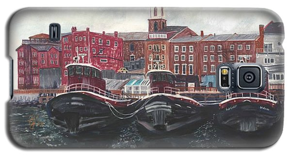 Tugboats Of Portsmouth Galaxy S5 Case