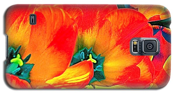 Galaxy S5 Case featuring the photograph Tulip 1 by Pamela Cooper