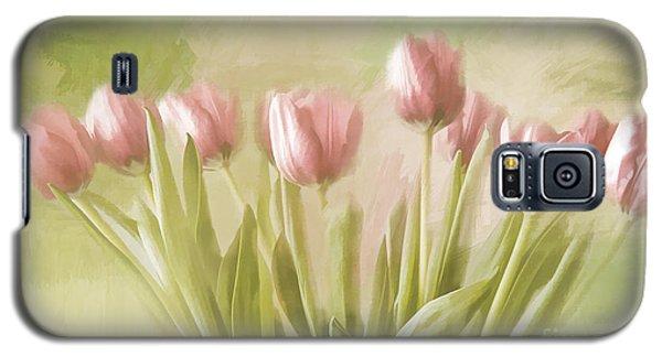 Tulip Bouquet Galaxy S5 Case by Linda Blair