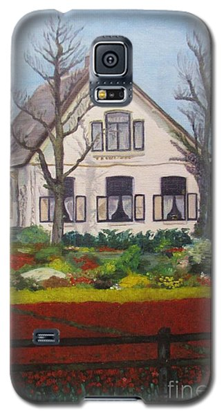 Tulip Cottage Galaxy S5 Case by Martin Howard