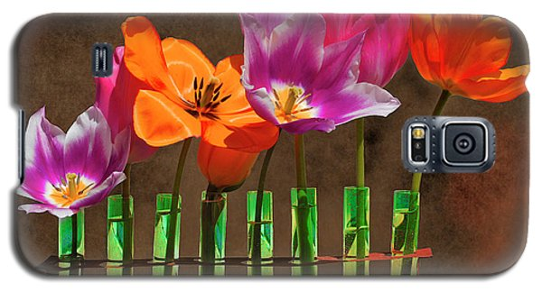Tulip Experiments Galaxy S5 Case by Jeff Burgess