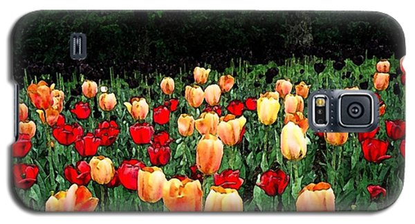 Galaxy S5 Case featuring the photograph Tulip Festival  by Zinvolle Art