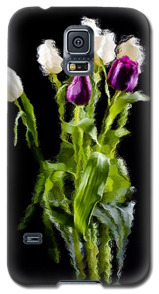 Galaxy S5 Case featuring the photograph Tulip Impressions II by Penny Lisowski