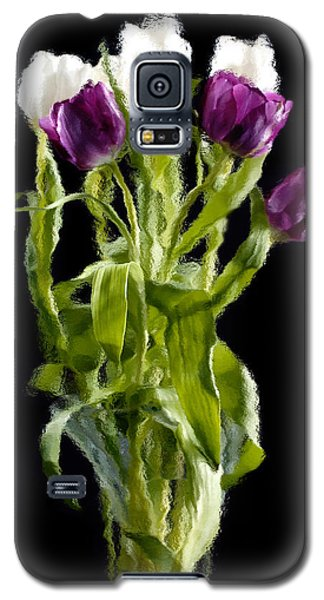 Galaxy S5 Case featuring the photograph Tulip Impressions IIi by Penny Lisowski