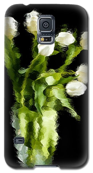Galaxy S5 Case featuring the photograph Tulip Impressions Vii by Penny Lisowski