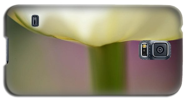 Galaxy S5 Case featuring the photograph Tulip In Abstraction by JoAnn Lense
