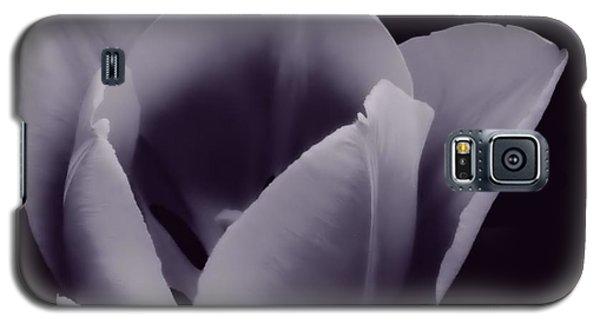 Tulip In Black And White Galaxy S5 Case