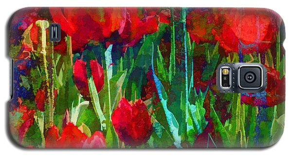 Galaxy S5 Case featuring the photograph Tulip Jubilee by Kathleen Holley