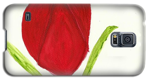 Tulip Of The Heart Galaxy S5 Case by Tracey Williams