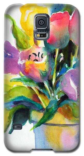 Tulip Pot Galaxy S5 Case by Kathy Braud