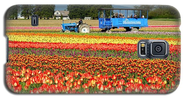 Tulip Wagon Galaxy S5 Case by Karen Molenaar Terrell