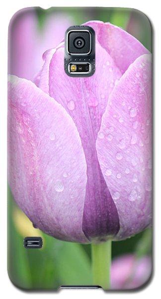 Tulip Weeps Galaxy S5 Case by Bill Woodstock