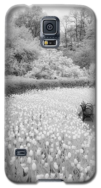 Tulips And Bench II Galaxy S5 Case