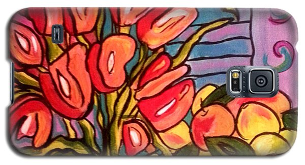 Tulips And Fruit Galaxy S5 Case