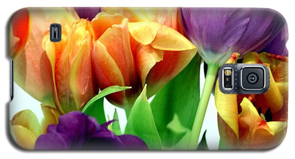 Tulips Bouquet Galaxy S5 Case by Karen Nicholson