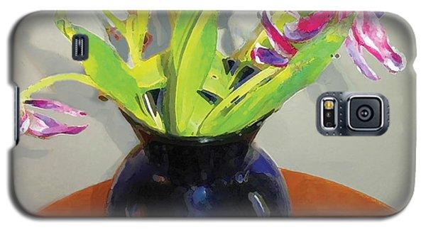 Galaxy S5 Case featuring the digital art Tulips by David Klaboe