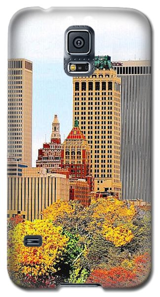 Tulsa Oklahoma In Autumn Galaxy S5 Case