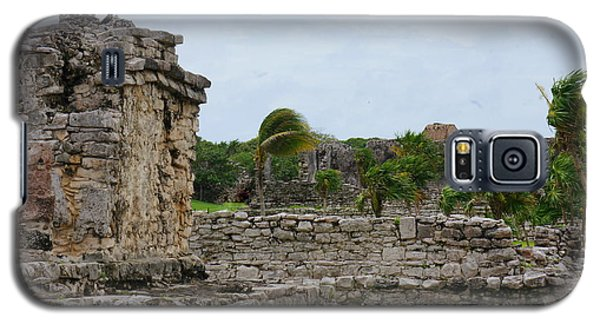 Tulum Ruins 3 Galaxy S5 Case