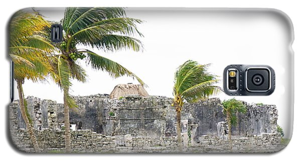Tulum Ruins 9 Galaxy S5 Case