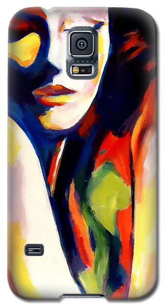 Galaxy S5 Case featuring the painting Tuning by Helena Wierzbicki