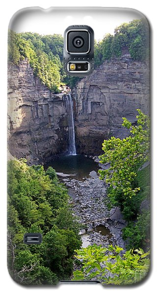 Galaxy S5 Case featuring the photograph Tunkhannock Falls 2 by Tom Doud