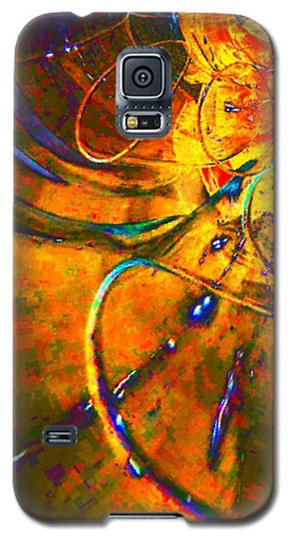 Galaxy S5 Case featuring the digital art Tunnel By Nico Bielow by Nico Bielow