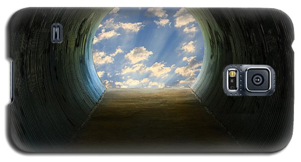 Tunnel With Light Galaxy S5 Case