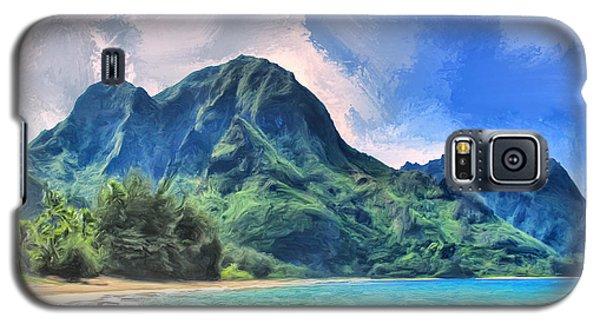 Tunnels Beach Kauai Galaxy S5 Case by Dominic Piperata