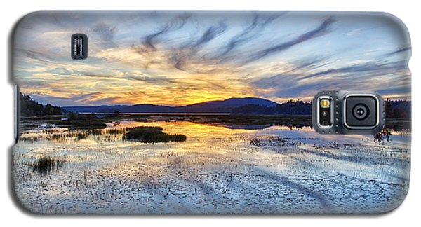 Tupper Lake Sunset Hdr 01 Galaxy S5 Case