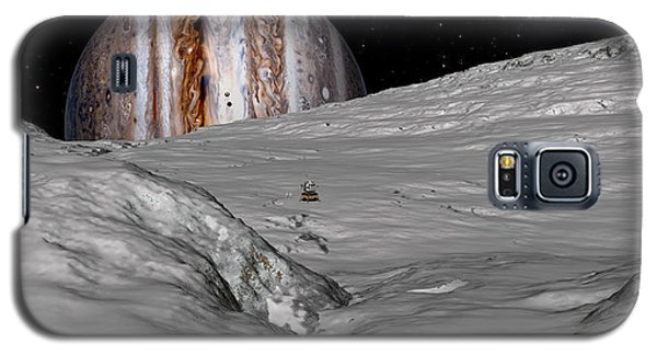 Galaxy S5 Case featuring the digital art Turbulent Giant by David Robinson