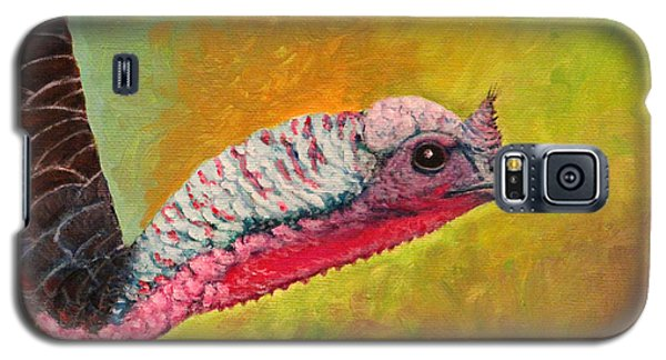 Galaxy S5 Case featuring the painting Turkey Aura by Janet Greer Sammons