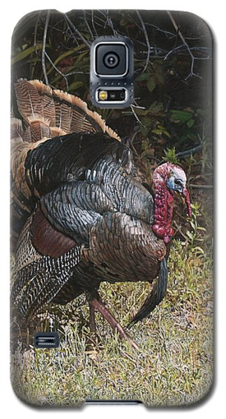Galaxy S5 Case featuring the painting Turkey In The Weeds by Joshua Martin