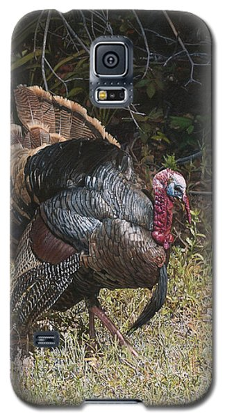 Turkey In The Weeds Galaxy S5 Case